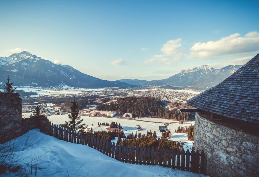 Best Western Panoramahotel Talhof in Wängle bei Reutte in Tirol, Winter
