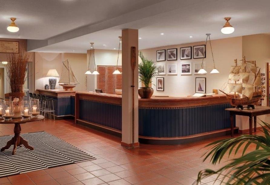Rezeption vom Precise Resort Rügen