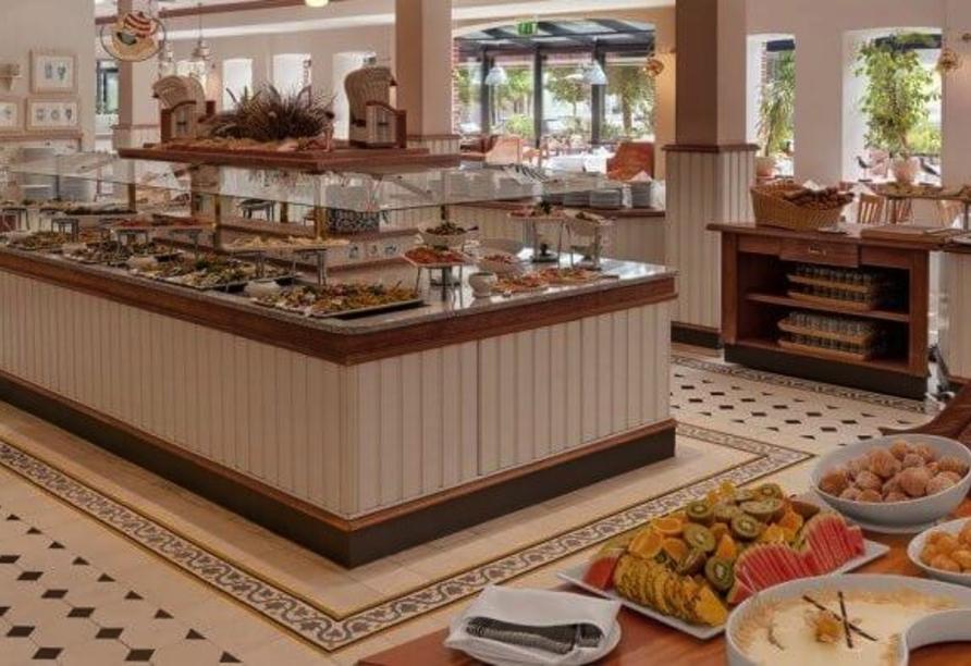 Buffet im Restaurant