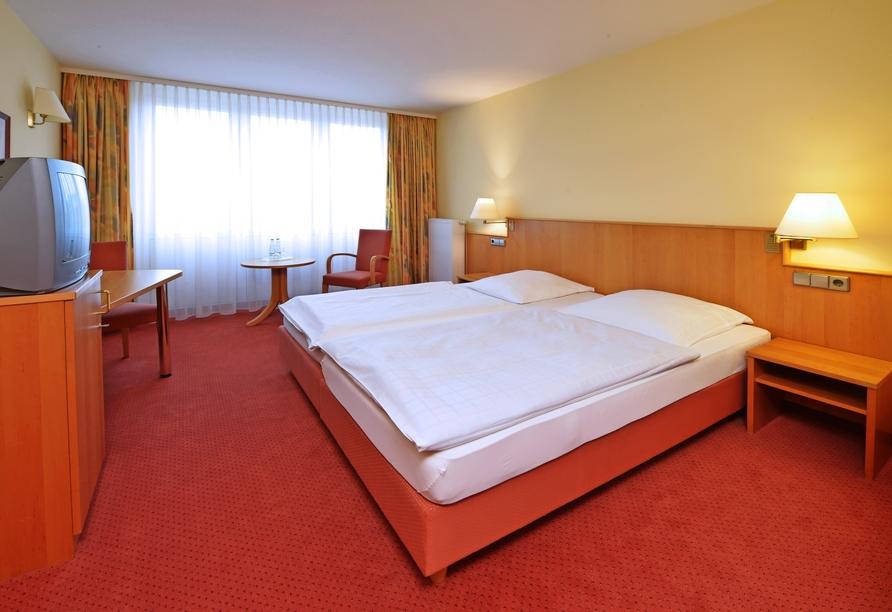 Beispiel eines Doppelzimmers im Hotel Sonne Eintracht