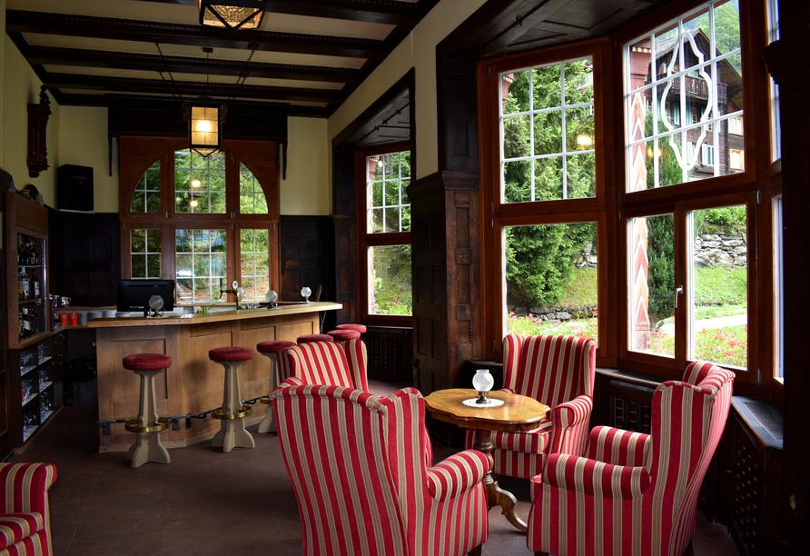 Hotel Belvédère, Wengen, Schweiz, Bar