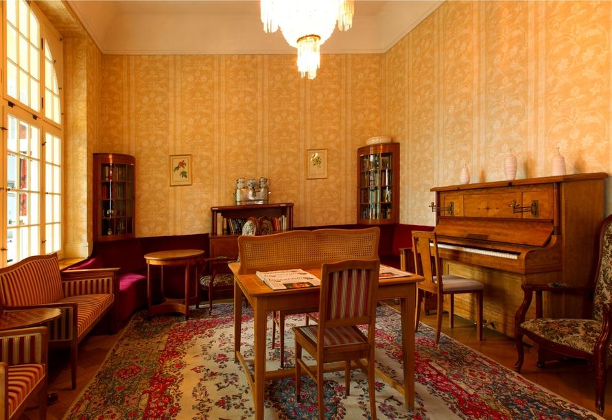 Hotel Belvédère, Wengen, Schweiz, Bücherecke