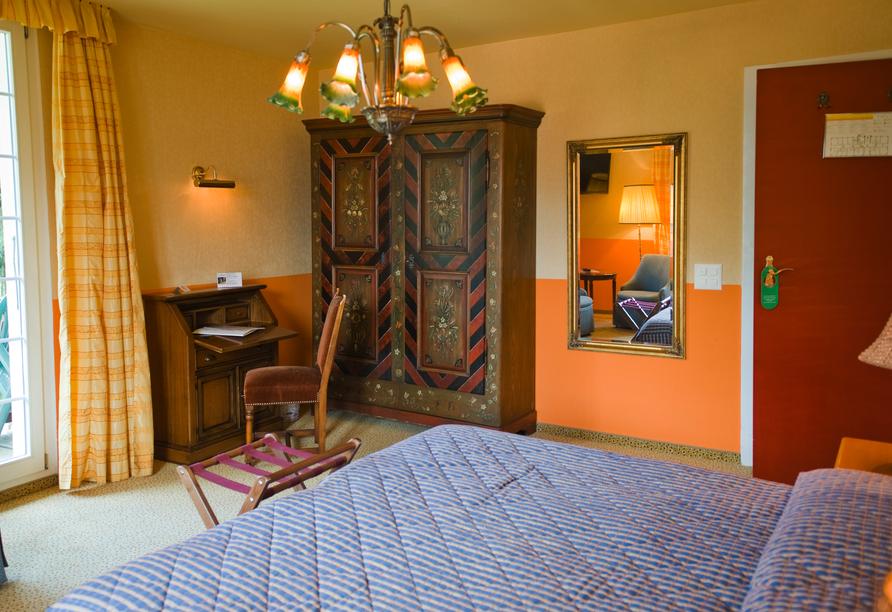 Hotel Belvédère, Wengen, Beispiel Doppelzimmer
