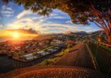 Sonnenuntergang über Funchal