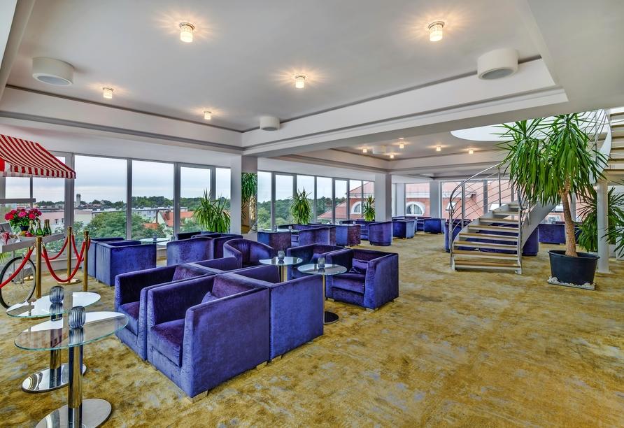 Hotel Grand Lubicz, Stolpmünde, Polnische Ostsee, Lounge