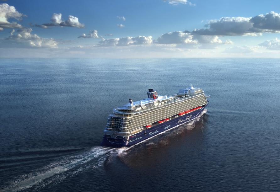 Mein Schiff 1, Außenansicht