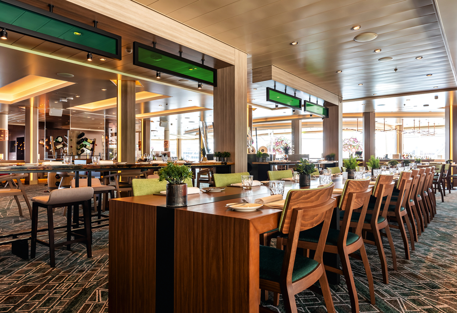 Mein Schiff 1, Restaurant