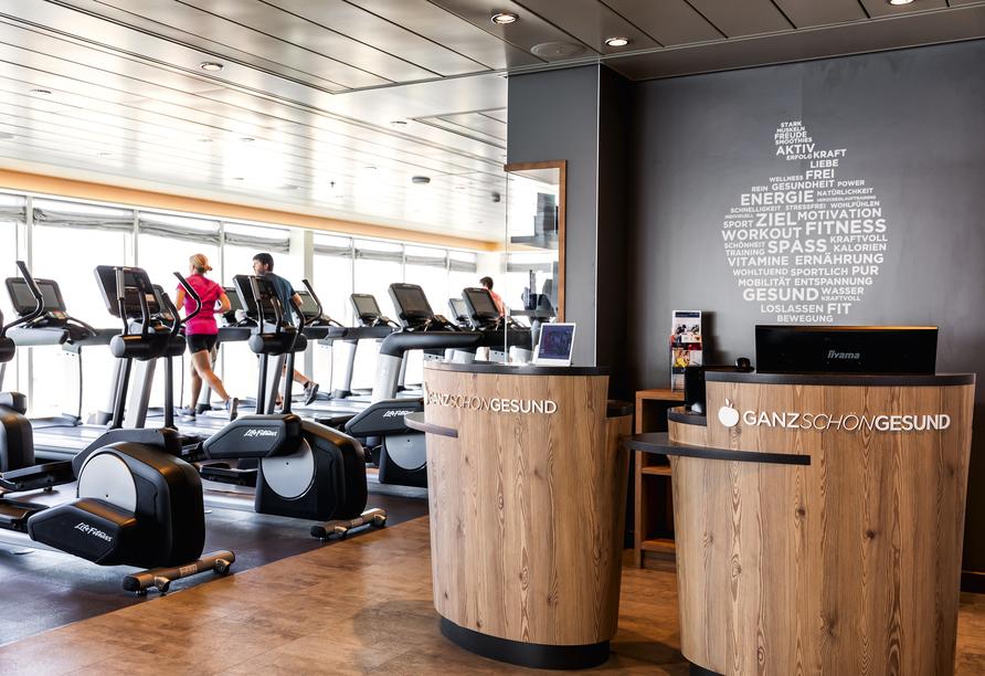 Mein Schiff 1, Fitnesscenter
