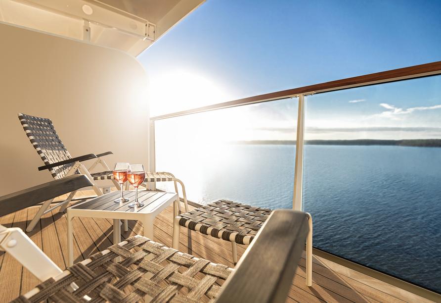 Mein Schiff 1, Balkon