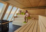 Mein Schiff 1, Sauna