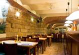 Autorundreise Ostdeutschland, Restaurant Hotel Amadeus Dresden