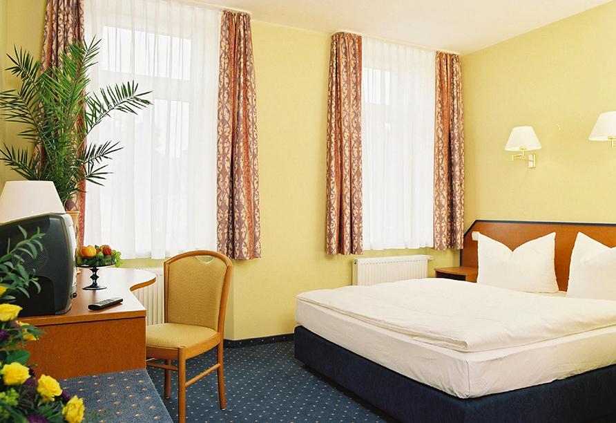 Autorundreise Ostdeutschland, Zimmerbeispiel Hotel Amadeus Dresden