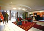 Autorundreise Ostdeutschland, Lobby Park Hotel Fasanerie Neustrelitz