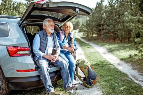 Autorundreise Ostdeutschland, Paar Autorundreise