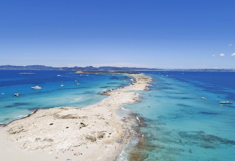 Formentera wird oft als Karibik im Mittelmeer bezeichnet.