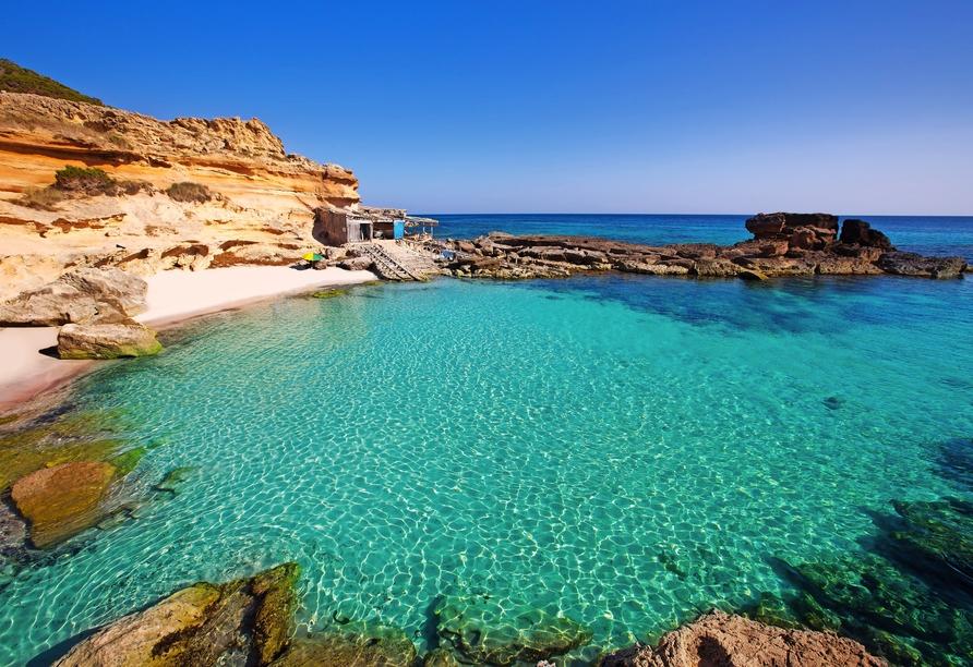 Freuen Sie sich darauf, Formentera bei einer Inselrundfahrt kennenzulernen.