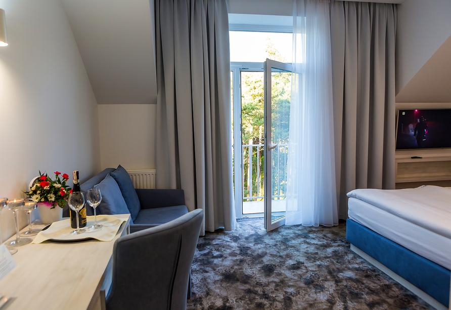 Hotel Jantar Wellness & Spa in Stolpmünde, Zimmerbeispiel