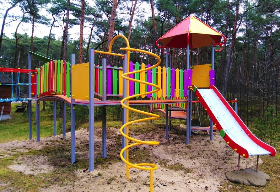 Hotel Jantar Wellness & Spa in Stolpmünde, Spielplatz