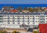 Alka Sun Resort in Henkenhagen, Außenansicht