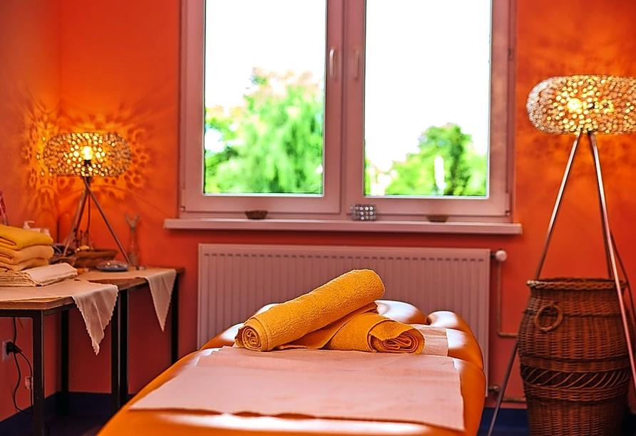 Alka Sun Resort in Henkenhagen, Wellnessbereich