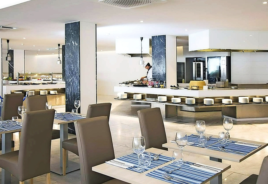 Restaurant im Beispielhotel Roc Leo in Can Pastilla