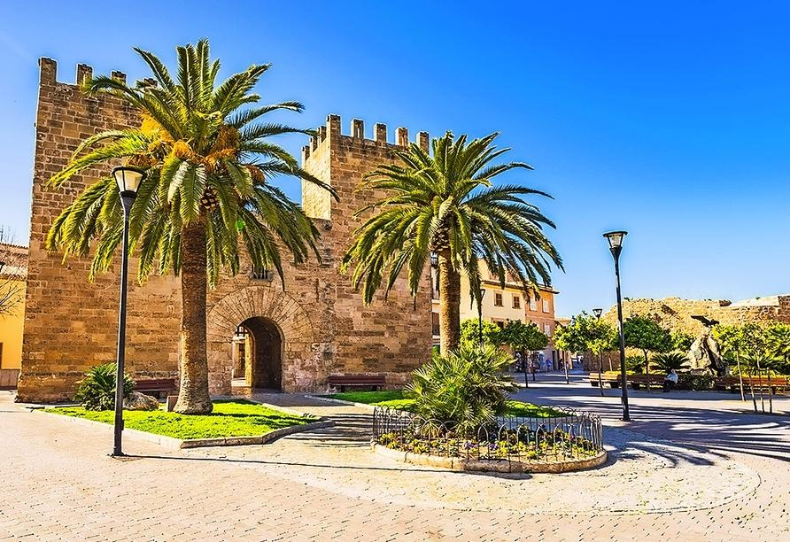 In der Altstadt von Alcúdia können Sie viel entdecken.