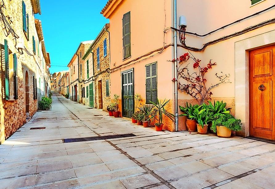 Alcúdia ist eine wunderschöne, lebendige und kulturell wertvolle Stadt im Norden der Insel.