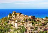 Das kleine Küstenstädtchen Deià zählt zu einem der schönsten der Insel.