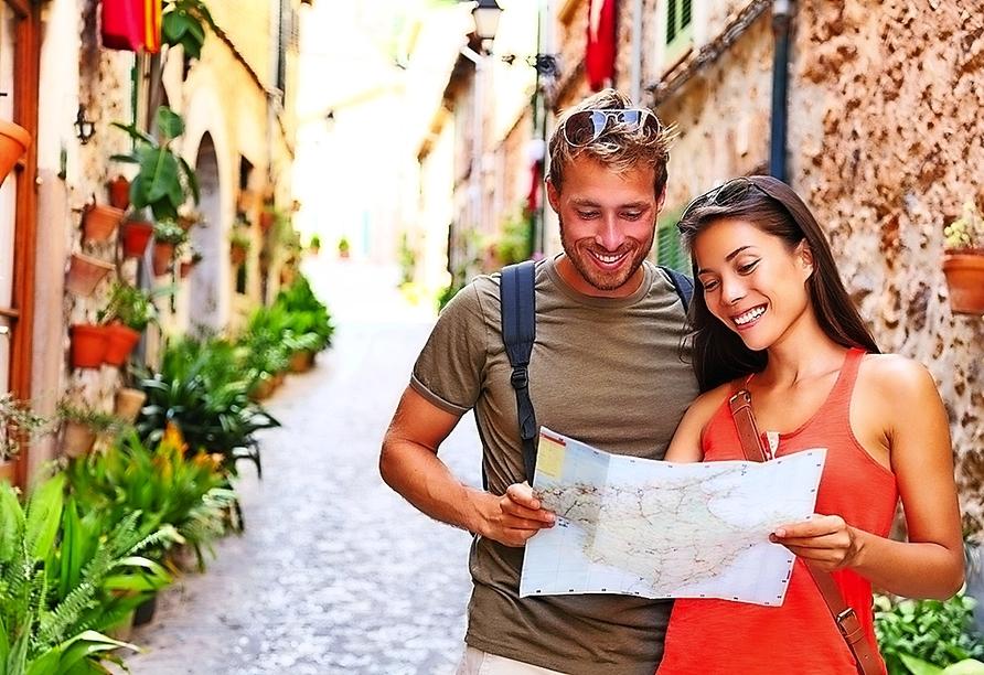 Gehen Sie auf Erkundungstour und entdecken Sie die schönsten Ecken Mallorcas.