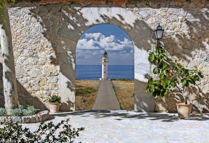 Leuchtturm auf Formentera