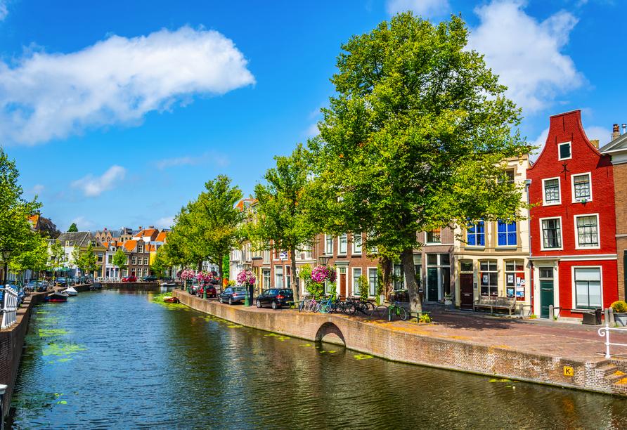 Die Stadt Leiden lädt zum Tagesausflug ein.