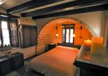 Beispiel für ein Doppelzimmer im Beispielhotel Byzantino.