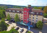 AMBER HOTEL Chemnitz Park, Außenansicht