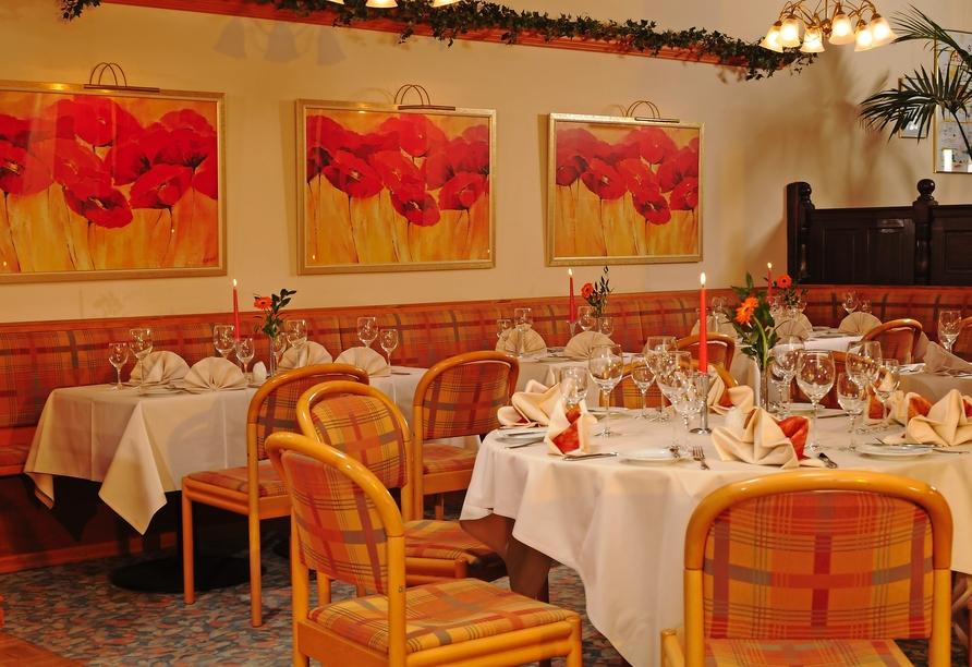 AMBER HOTEL Chemnitz Park, Restaurant