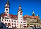 AMBER HOTEL Chemnitz Park, Altes und Neues Rathaus