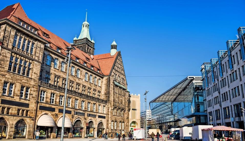 AMBER HOTEL Chemnitz Park, Marktplatz Chemnitz
