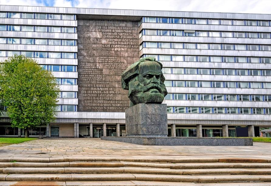 AMBER HOTEL Chemnitz Park, Karl-Marx-Monument