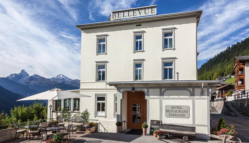 Hotel Bellevue Wiesen, Außenansicht