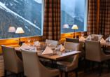 Hotel Bellevue Wiesen, Restaurant