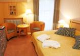 Beispiel eines Doppelzimmers im Dorint Strandresort & Spa Ostseebad Wustrow