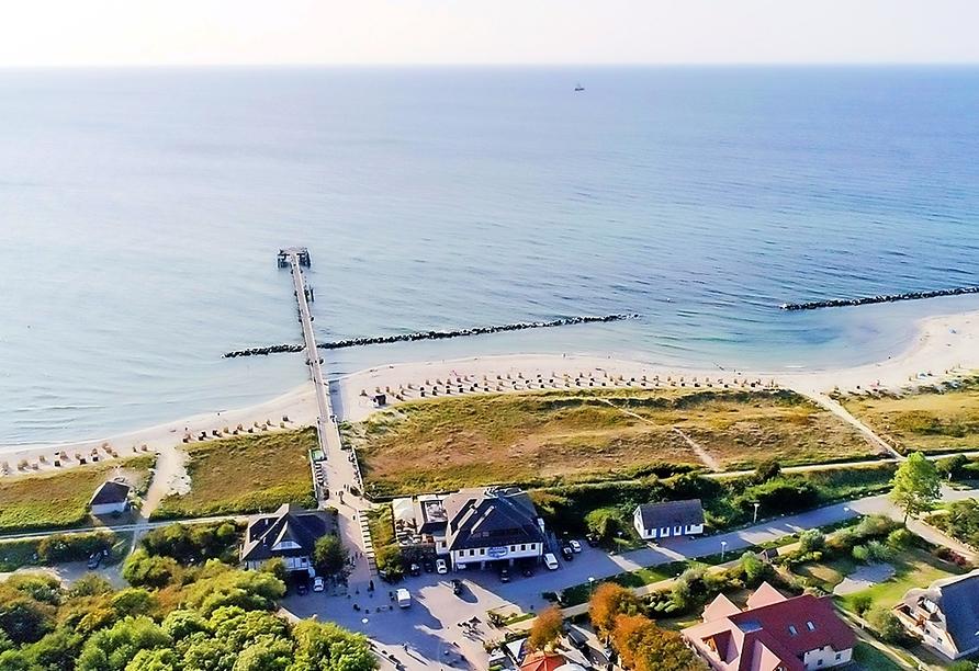 Ein erholsamer Urlaub an der schönen Ostsee wartet auf Sie.