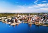 Besuchen Sie die Hansestadt Rostock.