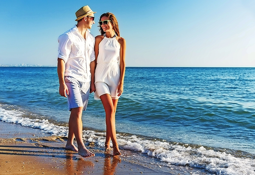 Freuen Sie sich auf ausgiebige Strandspaziergänge an der Costa Dorada.
