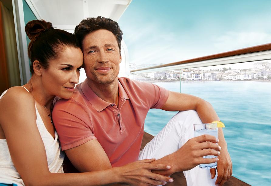 Mein Schiff 3, Paar