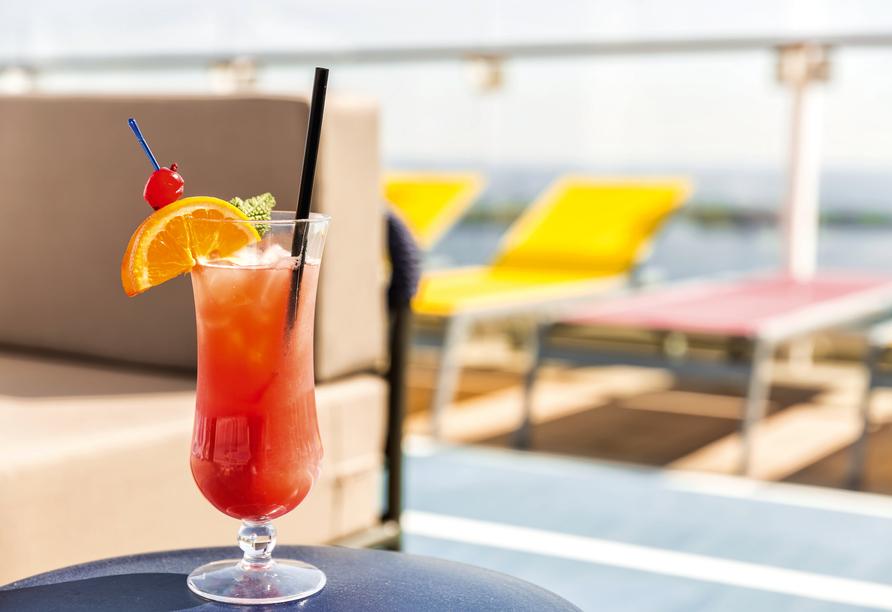 Mein Schiff 3, Cocktail