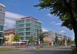 Airporthotel Berlin Adlershof, Außenansicht Hotel