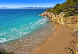 Die traumhafte Bucht Cala Penya Tallada in Salou bietet Ihnen Ruhe und Entspannung.