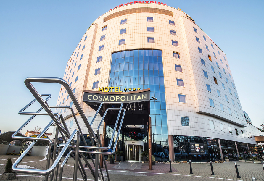 Hotel Cosmopolitan Bobycentrum, Außenansicht