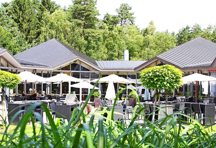 Hotel Park Soltau, Terrasse