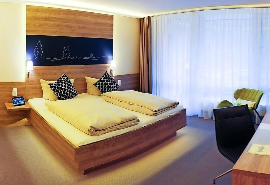 Hotel Park Soltau, Beispiel Doppelzimmer